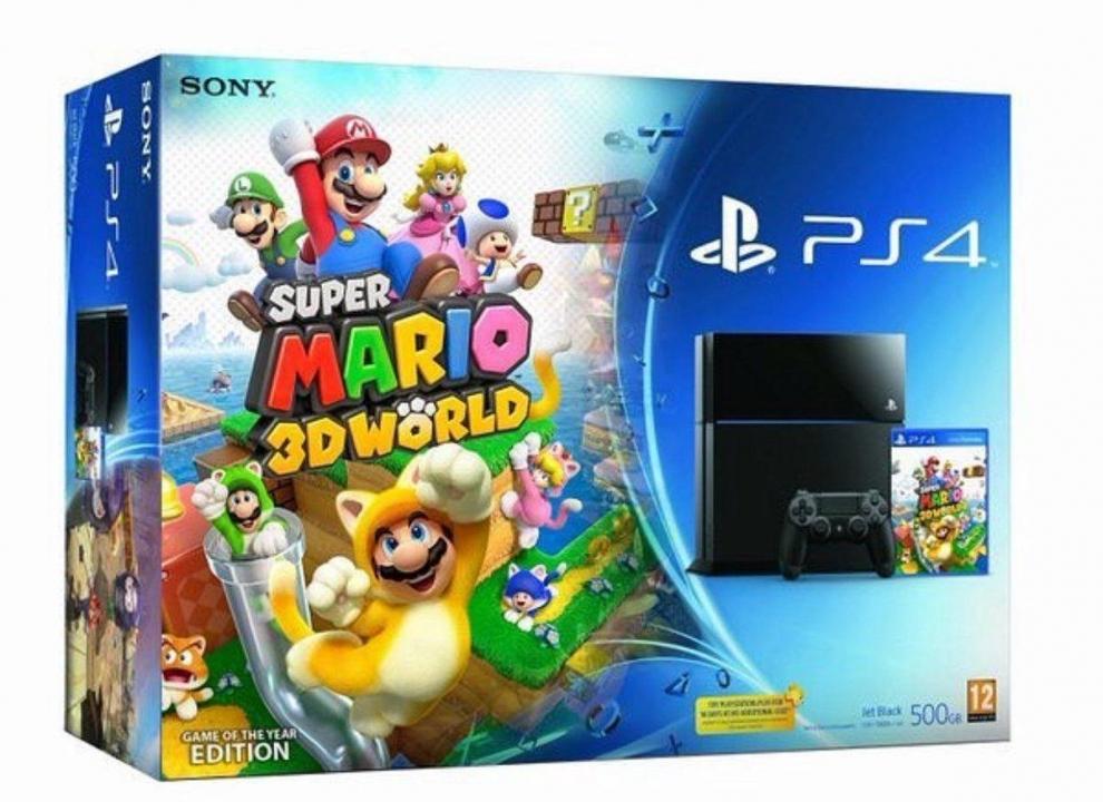 I can't wait for the Super Mario 3D World PS4 Bundle. : PlusGames