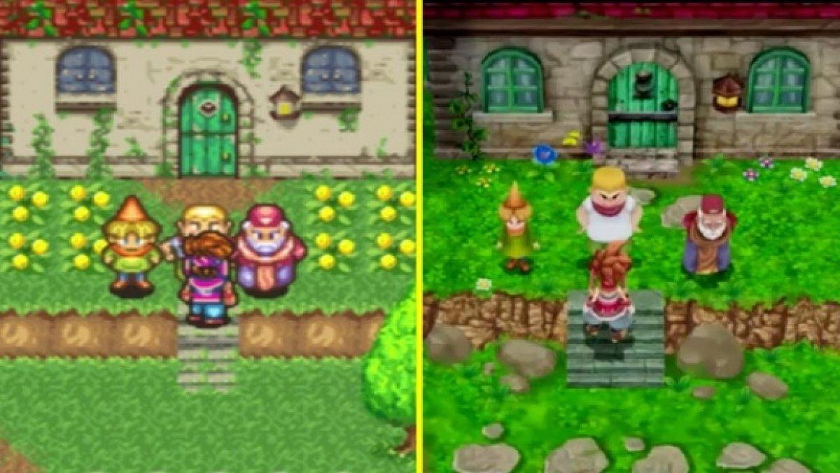 Clásico vs remake! Comparan en vídeo Secret of Mana y su nueva versión