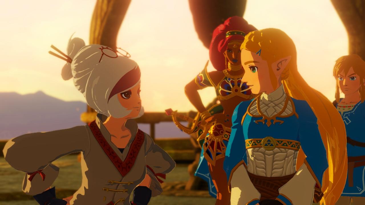 Ya disponible la demo de Hyrule Warriors: La era del cataclismo junto a un  nuevo tráiler