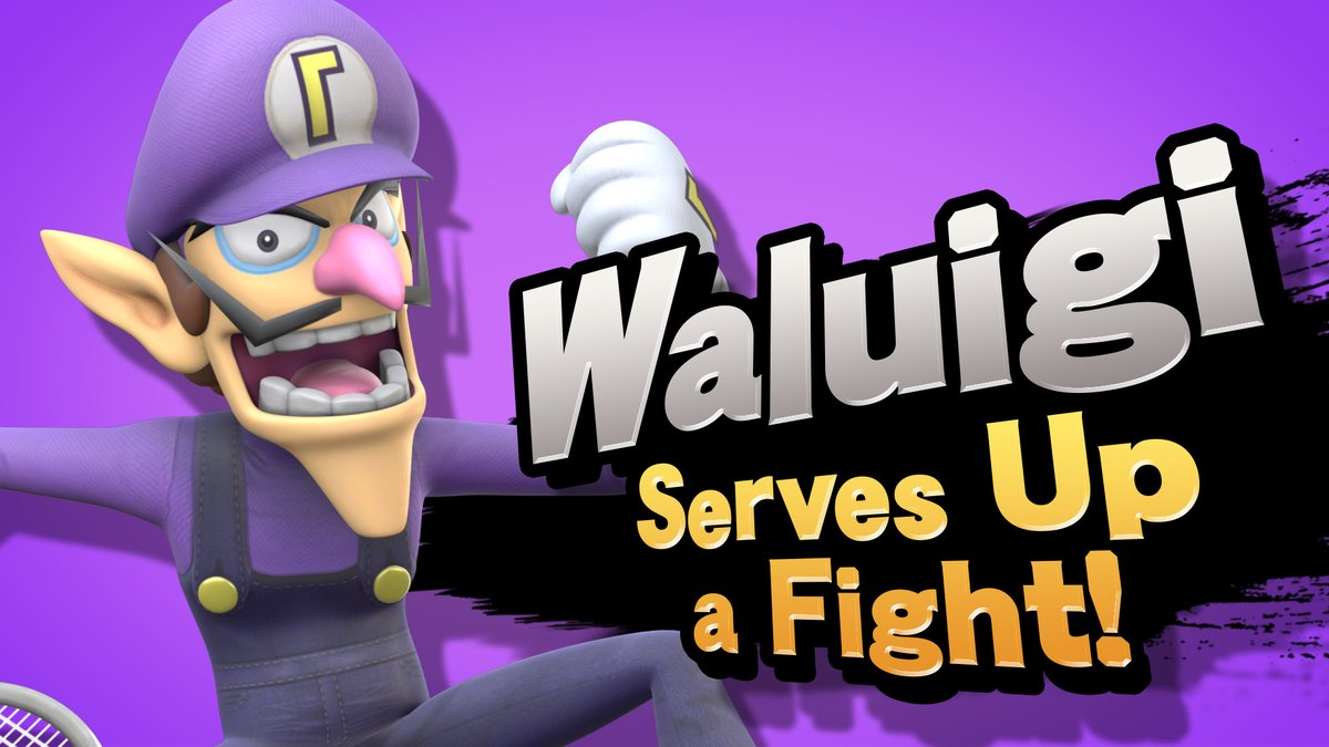 Make Waluigi playable in Smash Ultimate! (@AddWaluigitoSSB) | Twitter