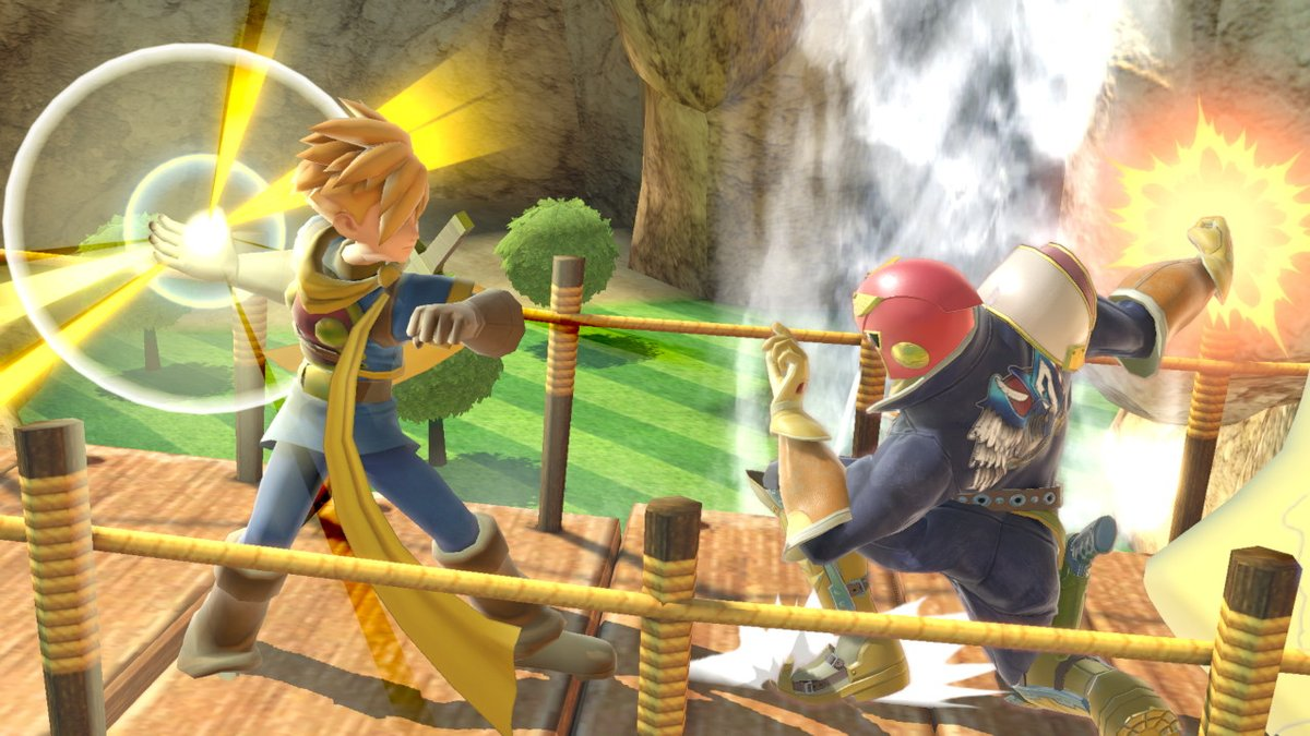 """SonicLink125 on Twitter: """"""""Fist of the Golden Sun"""" vs """"Falcon Punch""""! What  happens when these two forces collide? #SmashBros #GoldenSun #FZero  #AssistAlliance… https://t.co/10jI8wNIMy"""""""